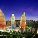Pemandangan Kota Azerbaijan saat ini