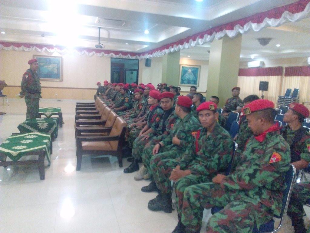 Pelatihan Nasional Cinta Negara Kokam Pemuda Muhammadiyah