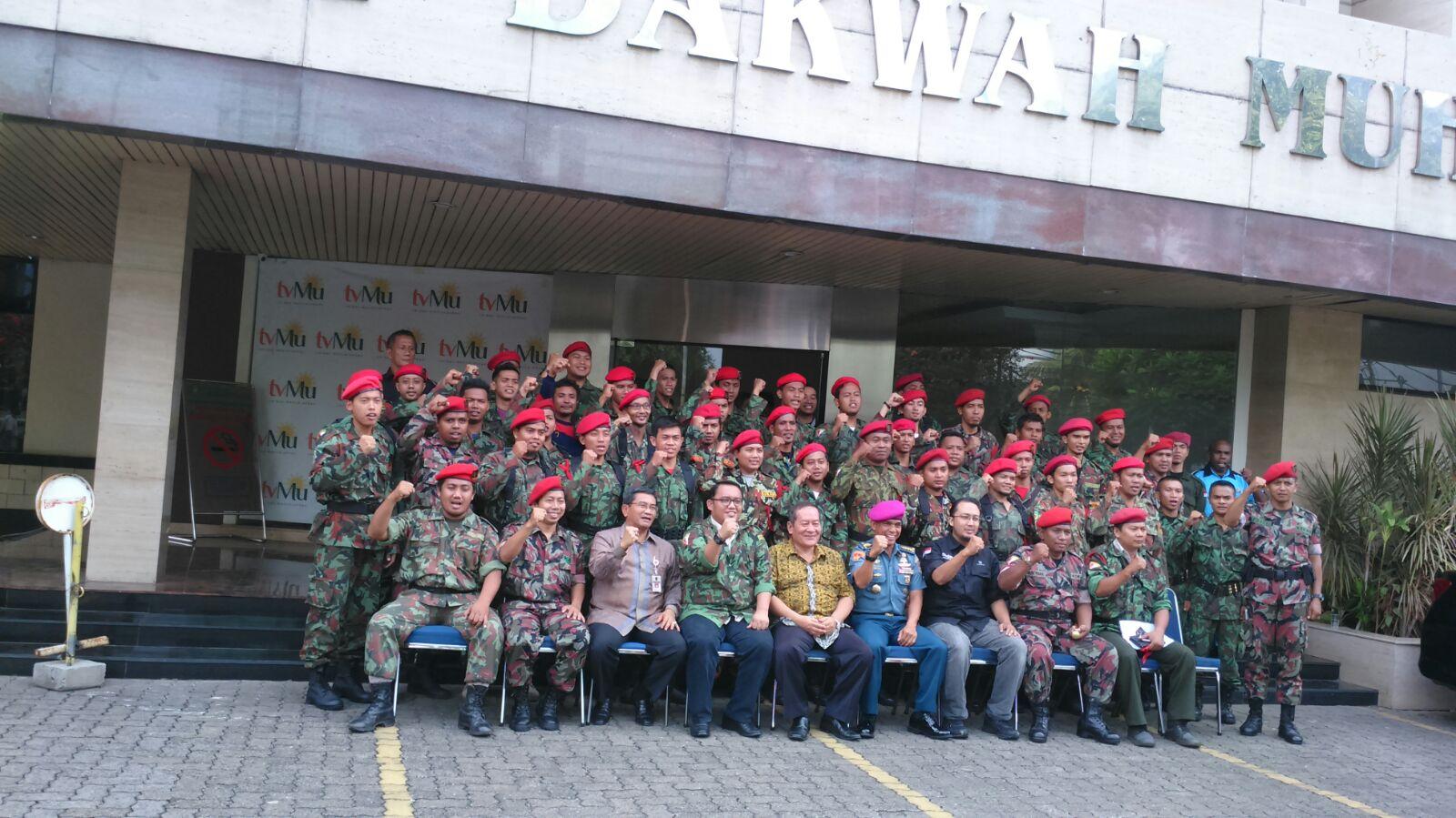 Foto Bareng KOKAM di PP Muahammadiyah Jakarta